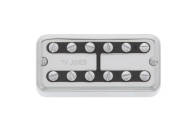 TV Jones - PowerTron Plus Bridge Pickup, Universal Mount w/ Clip System - Chrome