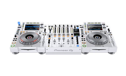 Limited Edition NXS2 System w/ CDJ-2000NXS2-W and DJM-900NXS2-W - White