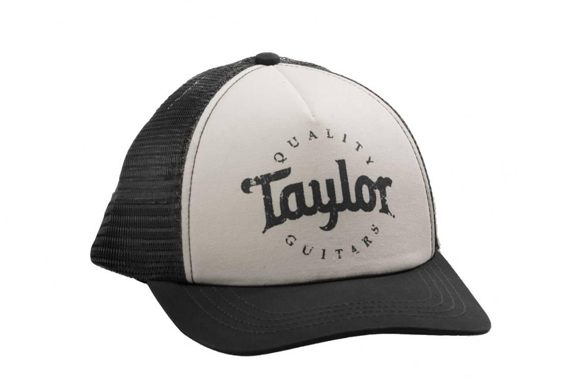 Taylor Guitars Trucker Cap - Black/White - Long & McQuade