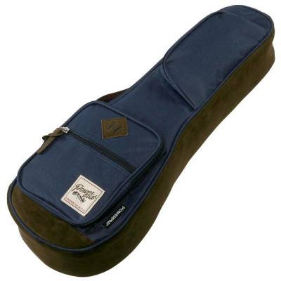 Powerpad Designer Collection Gigbag for Soprano Ukuleles - Navy Blue
