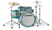 Sonor - AQ2 Stage 5-Piece Shell Pack (22,10,12,16,14 Snare) - Aqua Silver Burst