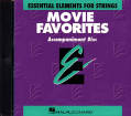 Hal Leonard - Essential Elements Movie Favorites for Strings - Del Borgo - CD Accompaniment