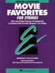Hal Leonard - Essential Elements Movie Favorites for Strings - Del Borgo - Percussion Accompaniment - Book