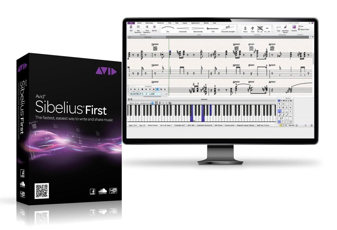 Avid - Sibelius First - Download