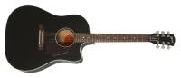 Gibson - 2018 J-45 Cutaway Acoustic-Electric - Ebony