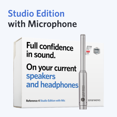 Reference 4 Studio Edition w/ XREF20 Measurement Mic (Boxed Version)