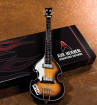 Axe Heaven - Classic Violin Bass Model: Miniature Guitar Replica Collectible