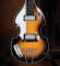 Classic Violin Bass Model: Miniature Guitar Replica Collectible