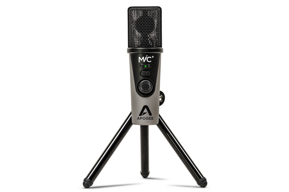 Apogee Mic Plus Usb Microphone For Ipad Iphone Mac And