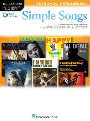 Simple Songs: Instrumental Play-Along - Keyboard Percussion - Book/Audio Online