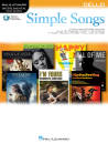 Hal Leonard - Simple Songs: Instrumental Play-Along - Cello - Book/Audio Online