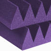 Auralex - Studiofoam 4 Inch Wedge (6 Pack) - Purple