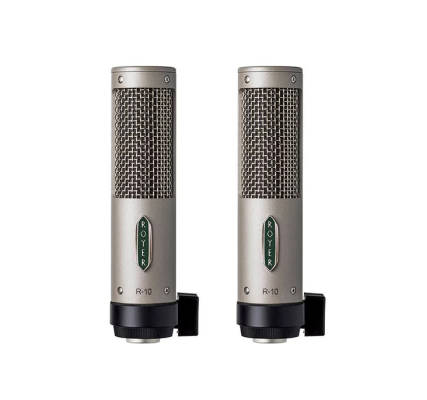 R-10 Studio/Live Ribbon Mic - Matched Pair