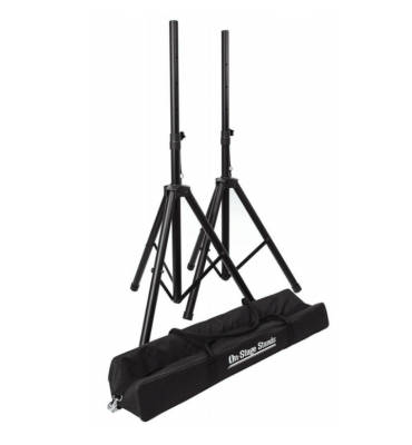 SSP7750 Compact Speaker Stand Pack w/ Bag