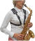 Comfort Saxophone Harness for Ladies with Metal Snap Hook