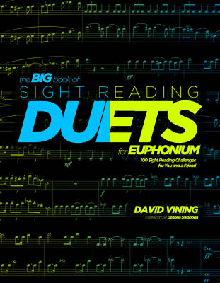 Big Book of Sight Reading Duets for Euphonium - Vining - Book