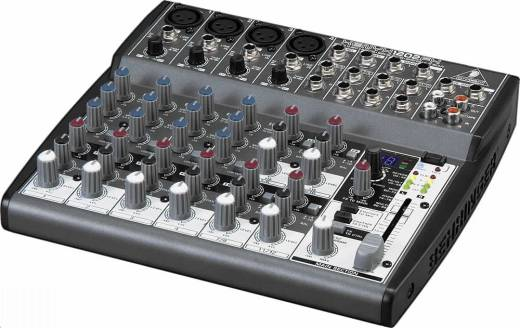 Xenyx 12 Inputs & 2 Bus Mixer with Effects