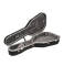 Pro II Large Classical Guitar Case - Black Shell/Silver Interior