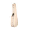 Hiscox Cases - Pro II OOO/OM Guitar Case - Ivory Shell/Silver Interior