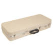 Hiscox Cases - Pro II Mandolin Case - Ivory Shell/Silver Interior