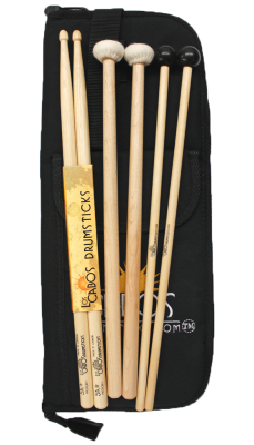 Intro Percussion Pack (Drum, Bell, Timpani Sticks) with Bag