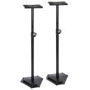 On-Stage Stands - Hex-Base Monitor Stands - Pair