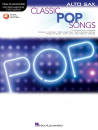 Hal Leonard - Classic Pop Songs: Instrumental Play-Along - Alto Sax - Book/Audio Online