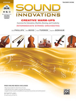 Sound Innovations for String Orchestra: Creative Warm-Ups - Teacher's Score - Book/Media Online
