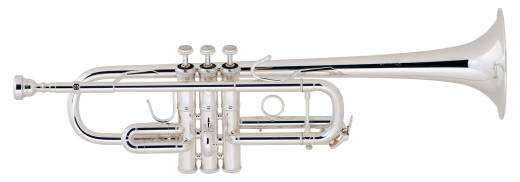 C180 Series C Trumpet w/#229 Bell - Silverplate