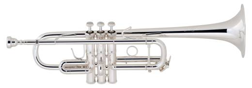 C180 Series C Trumpet - Silver Plated, No Case