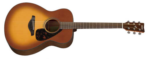 FS800 Acoustic Guitar - Small Body, Solid Spruce Top, Sandburst Finish