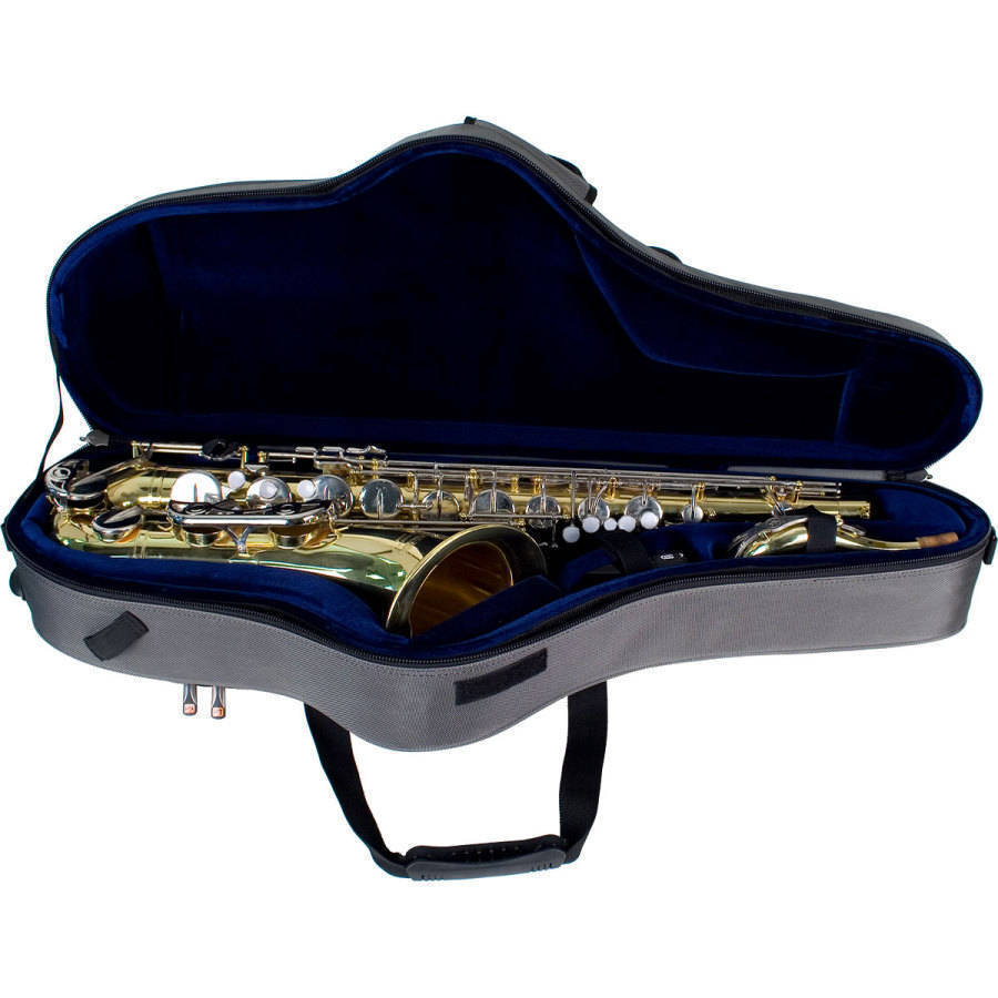 protec tenor sax contoured pro pac case long mcquade musical instruments. Black Bedroom Furniture Sets. Home Design Ideas