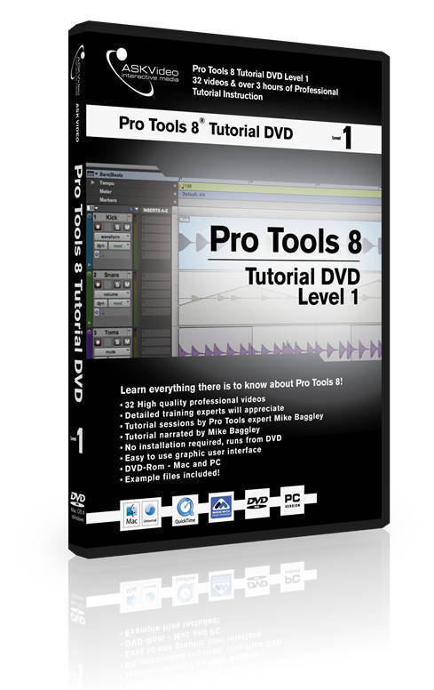 ASK Video Pro Tools 8 Tutorial DVD - Level 1 - Long