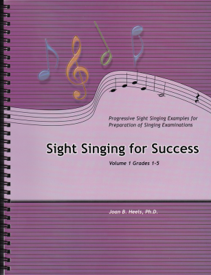 Sight Singing For Success, Volume 1 (Grades 1-5) - Heels - Book