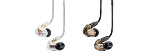 SE535 - Sound Isolating Earphones -Clear