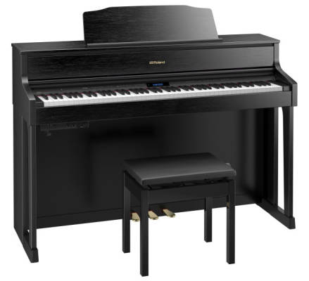 HP605 Digital Piano - Contemporary Black w/ Stand & Bench