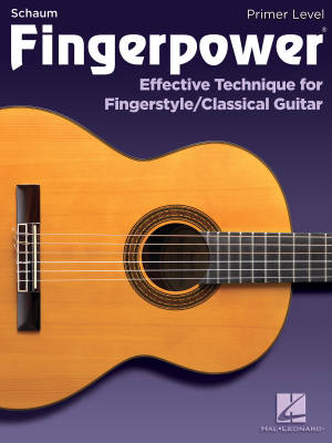 Fingerpower, Primer Level: Effective Technique for Fingerstyle/Classical Guitar - Johnson - Book