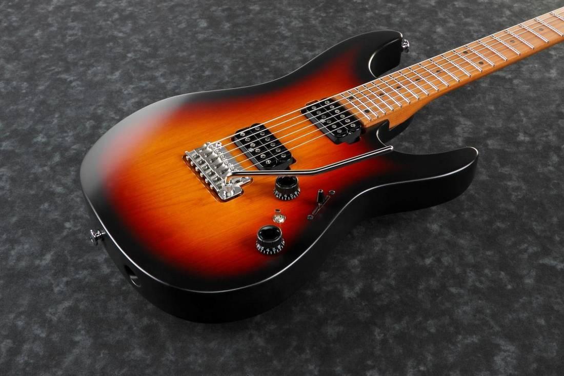... AZ Prestige Electric Guitar - Tri Fade Burst Flat ...