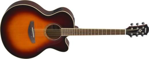yamaha cpx600 acoustic electric guitar old violin sunburst long mcquade musical instruments. Black Bedroom Furniture Sets. Home Design Ideas