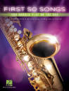 Hal Leonard - First 50 Songs You Should Play on the Sax - Book