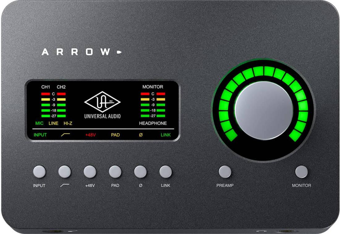 Universal Audio - Arrow Thunderbolt 3 Desktop Audio Interface