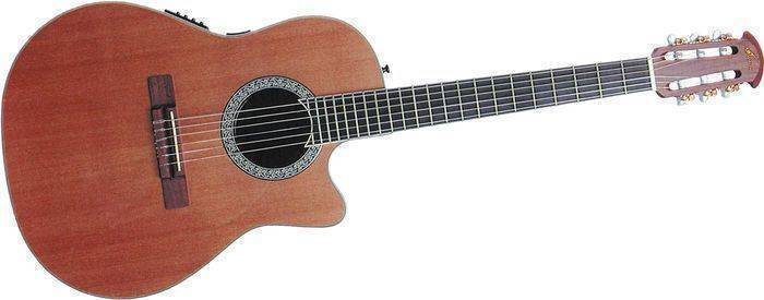 Ovation Celebrity Deluxe CC44-8TQ Quilt Top Acoustic ...