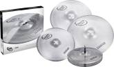 Sabian - Quiet Tone Practice Cymbals - 14 Hats, 16 & 18 Crash, 20 Ride