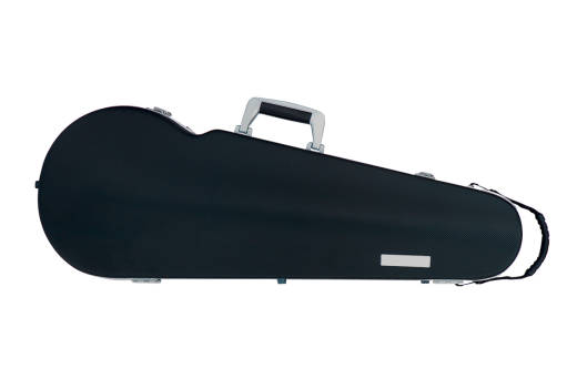 Panther Hightech Contoured Viola Case - Black