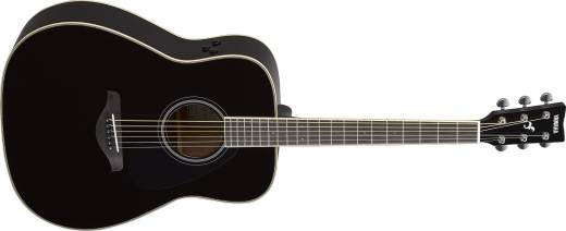 FG TransAcoustic Guitar w/Solid Spruce Top - Black