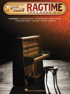 Ragtime Classics: E-Z Play Today #33 - Electronic Keyboard - Book