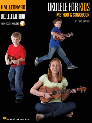 Ukulele for Kids Method & Songbook - Johnson - Book/Audio Online