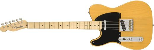 American Original '50s Telecaster Left-Hand, Maple Fingerboard - Butterscotch Blonde
