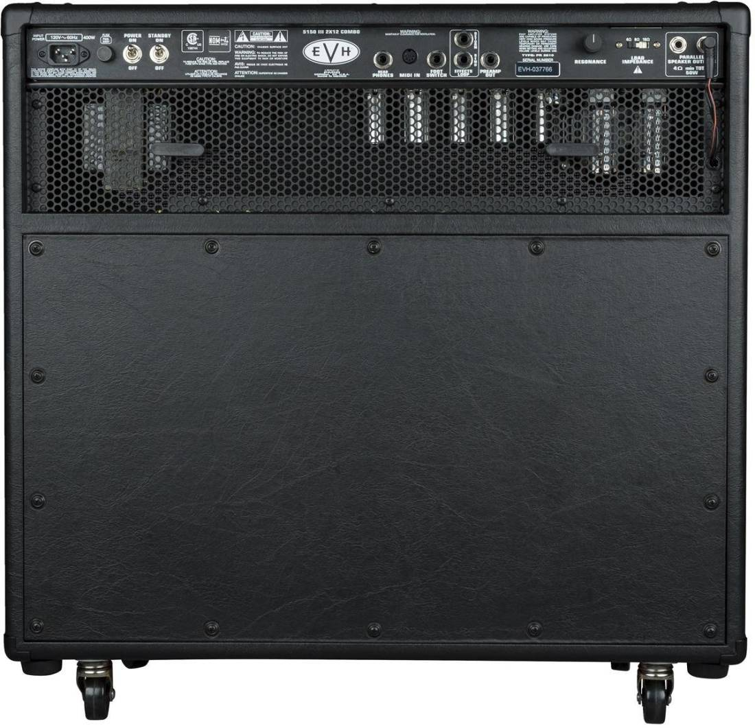 evh 5150iii 2x12 50w 6l6 combo black 120v long mcquade musical instruments. Black Bedroom Furniture Sets. Home Design Ideas