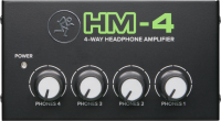Mackie - HM-4 Compact 4-Way Headphone Amplifier
